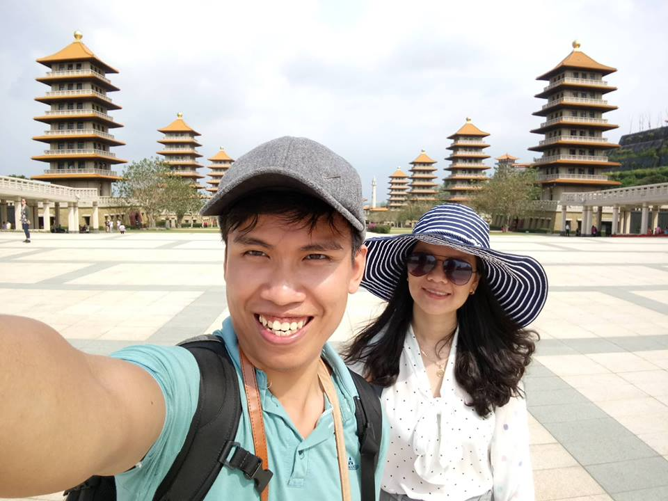We visited Fo Guang Shan in April 2018